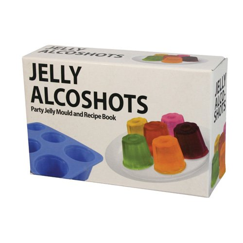 Bluw Vodka Jelly Shots Mould With recipe book]()