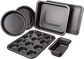 Amazon Basics Juego de moldes de 6 piezas