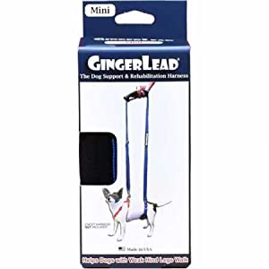 (X-Small – Male/Female) – GingerLead Dog Support & Rehabilitation Harnesses – Padded Dog Slings with Integrated Leash… Click on image for further info.