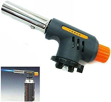 Pistola de llama portátil de soldadura de gas antorcha ...