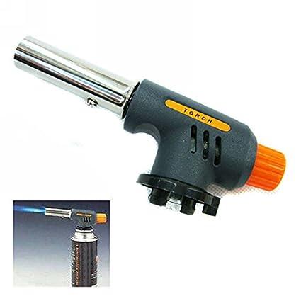 Linterna de gas portátil para soldar o calentar la pistola de llama de butano, portátil