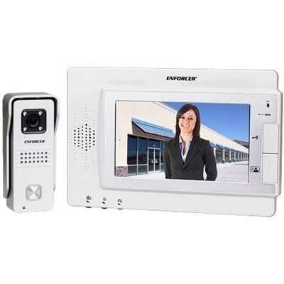 Seco-Larm Enforcer Hands-Free Video Door Monitor (DP-234-MQ) by SECO-LARM USA Inc