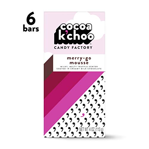 Cocoa K'Choo Milk Chocolate Merry-Go Mousse 4 oz. bar (Pack of -