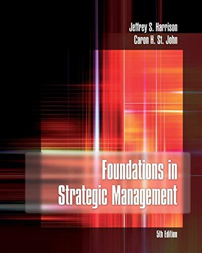 Foundations of Strategic Management