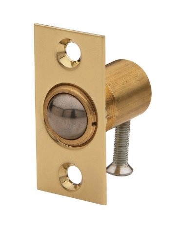 Baldwin 0426040 Adjustable Ball Catch, Satin Brass
