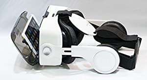 VR Headset; 3D Glasses Anti-Blue-Light Lenses; 120° FOV; Stereo Headset; phone answering button; Virtual Reality Glasses VR Goggles Fit For all iOs and Android 4.0-6.2 inch Smartphone from Fortune Group