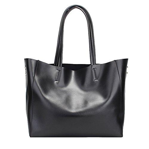 main main Sac cuir femme en Noir LF épaule portés Sac Sac 8689 DISSA portés fashion à qIFpxR