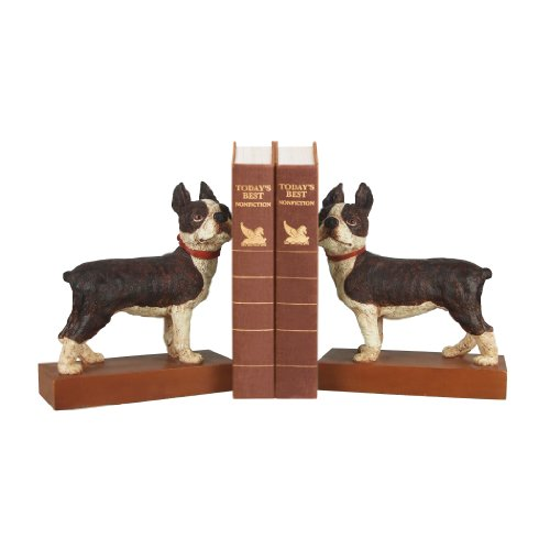 Boston Terrier Bookends - Pair by Sterling