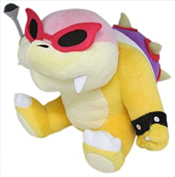 Sanei Super Mario Plush Series Roy Koopa peluche, ...