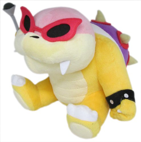 Little Buddy Super Mario Series Roy Koopa 6'' Plush