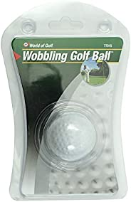 JEF World of Golf 77015 Gifts and Gallery Incorporated Wobbling Golf Ball (White)