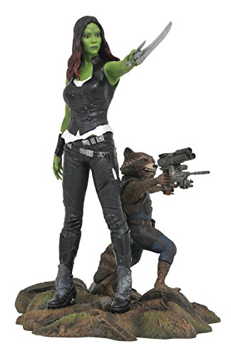 Diamond Select Toys Marvel Gallery Guardians of The Galaxy Vol. 2 Gamora & Rocket Raccoon PVC Figure