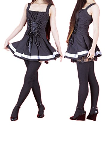 [Love Death Note Cosplay Costume-MisaMisa Misa Amane Dress] (L Costume Death Note)