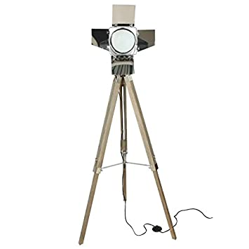 Indhouse - Lámpara de pie con foco de cine: Amazon.es: Hogar