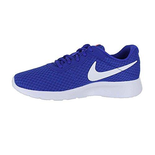 Nike Wmns Tanjun Se, Chaussures de Tennis Femme Paramount Blue White Lava Glow