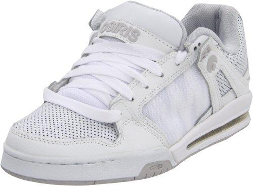 OsirisPixel - Sport, scarpe stringate lifestyle uomo White/Cement/Silver Leather