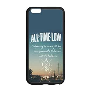 the Case Shop- Customized All Time Low BandTPU Rubber Case Cover Skin for iPhone 6 Plus 5.5 Inch , i6pxq-570