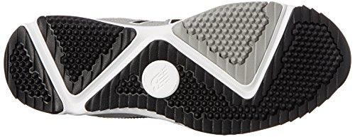 New Balance hombres del césped t4040V3béisbol zapatos Grey/Black