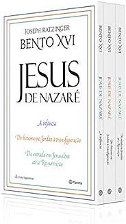 Box Coletânea Jesus de Nazaré: Da entrada em Jerusalém até a Ressureição/Do batismo no Jordão à transfiguração