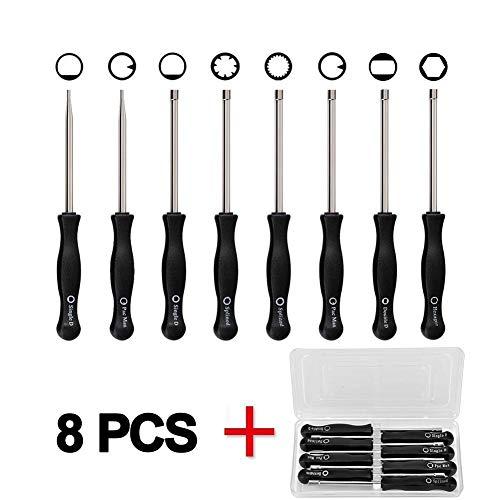 Senrob 8 Pcs Carburetor Adjustment Tool Kit,Tune-up Adjusting Tool for Common 2 Cycle Carburetor Engine by Senrob
