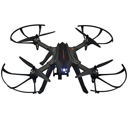 Altitude Hold Brushless Large RC Quadcopter Drone-Support Carry 4K Action Camera Bugs 3H ()