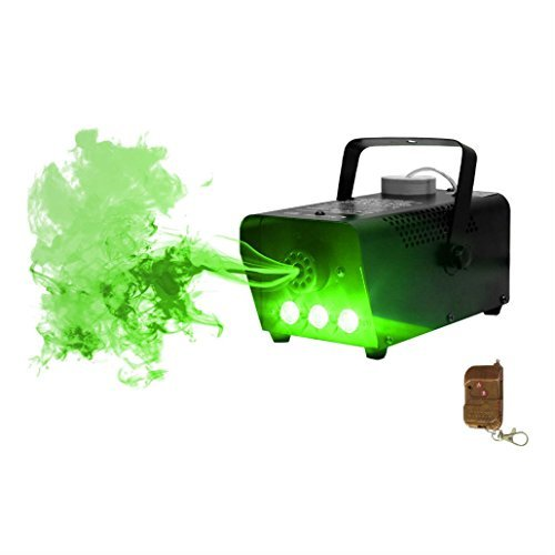 Halloween Party LED Fog/Smoke Machine with Wireless Remote Controller from Unknown