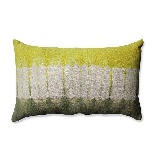 Pillow Band (Pillow Perfect Shibori Bands Rectangular Throw Pillow, Apple/Olive)