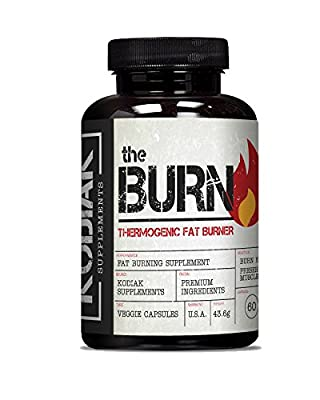 The Burn - Thermogenic Fat Burner - Lose Fat and Preserve Muscle