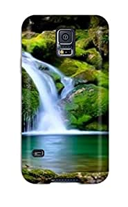 DeirdreAmaya Scratch-free Phone Case For Galaxy S5- Retail Packaging - Placid Nature