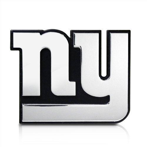 NFL New York Giants 3D Chrome Metal Car Emblem by Team Promark