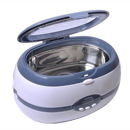 Digital Ultrasonic Cleaner 0 6 Liters 600ml / Tattoo Equipment / Hospital  and Dental Clinics / Optical / Jewlry / Biology Labs / 2000