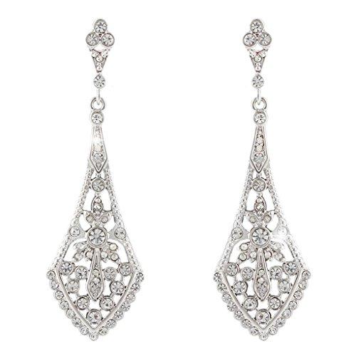 Chandelier Wedding Earrings: Amazon.com