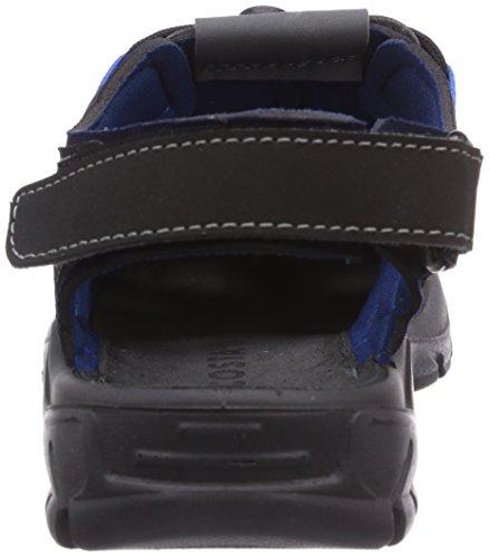Ricosta Reyk - Sandalias de vestir de material sintético para niño azul - Blau (antra/ozean 180)