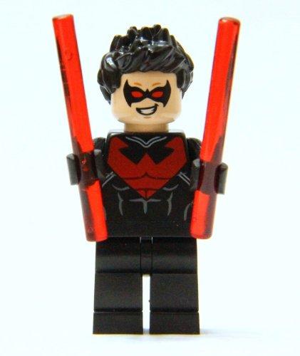 LEGO® Batman DC (Rot) Super Heroes Nightwing Mini-Figurine (Rot) DC 2014 59b9b3