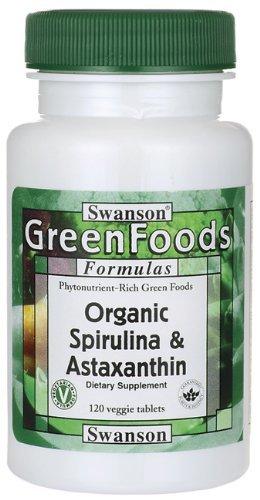 Organic Spirulina Astaxanthin Tabs Pack