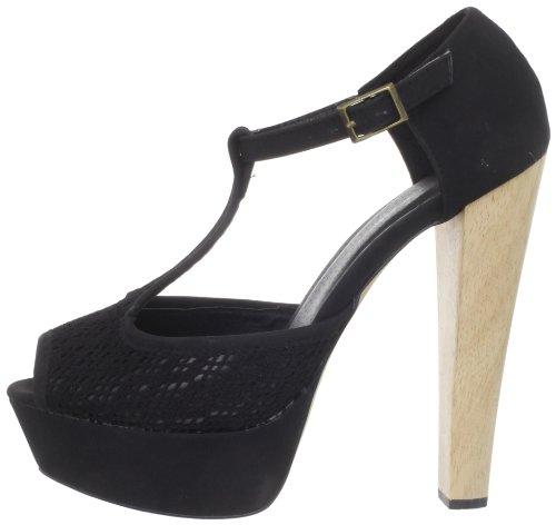 Label Women's C Black Sandal Suden 5 qOUUfY