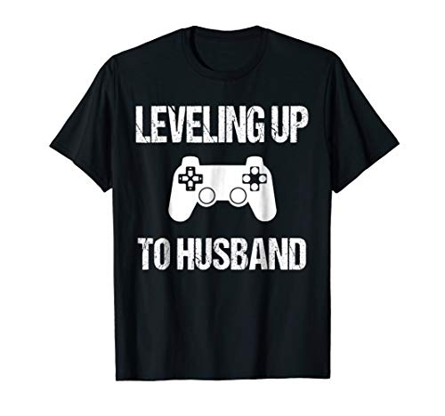 Engagement Tshirt for Groom Video Game Lovers]()