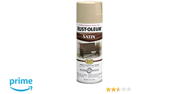 Rust Oleum 7772830 Stops Rust Preventive Enamel Spray Paint 12 Oz Aerosol Can Putty 1 Pack