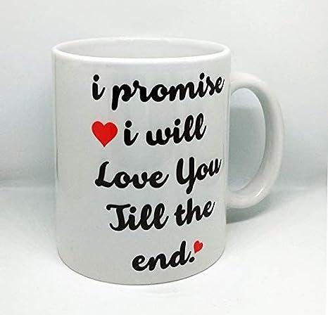 Buy PRINTSWAYS Valentine Day Gift Quote Printed Coffee Mug
