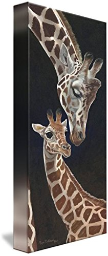 - Imagekind Wall Art Print entitled Motherly Love Giraffe by Roger Dullinger | 4 x 10