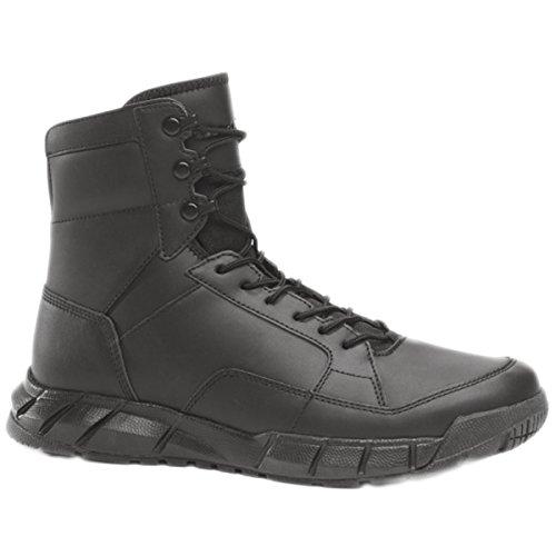 Oakley Mens Light Assault Leather Boots, Black, - Oakley Boots Police