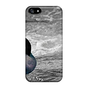 Anti-scratch And Shatterproof Blue Goose Phone Case For Iphone 5/5s/ High Quality Tpu Case by Maris's Diary