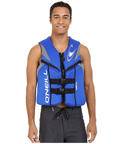 Reactor Mens Heavy Water - O'Neill Wetsuits  Men's Reactor USCG Life Vest,Pacific/Lunar/Black,X-Large