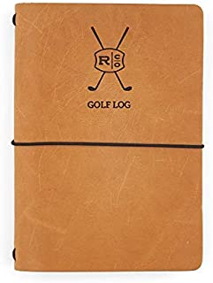 product image for Rustico Leather Golf Log Book Handmade in The USA Easily Refillable