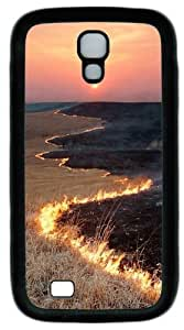 BurnIng TPU Case Cover for Samsung Galaxy S4 and Samsung Galaxy I9500 Black