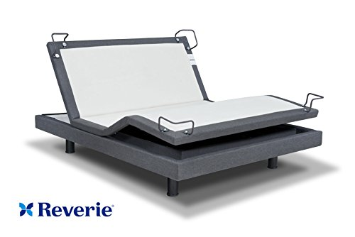 Reverie 7S Adjustable Bed From The Makers Of The Tempurpedic Ergo W/ Bluetooth Option (Queen, With Bluetooth)