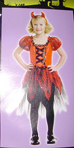 Sassy Devil Costumes (Girls Sassy Devil Costume - Medium)
