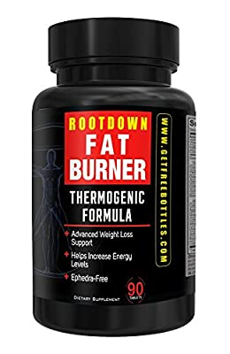 Root Down Fat Burner Thermogenic Weight Loss Supplement 90 Capsules