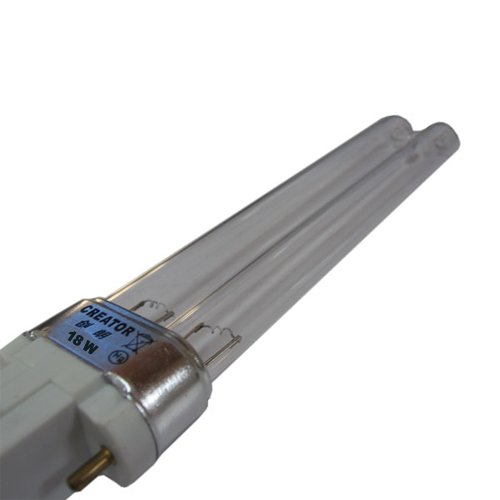 Mauk Lampe de rechange UVC Ampoule tube 18W pour Set XXL, blanc, 22x 5x 3cm, 1961