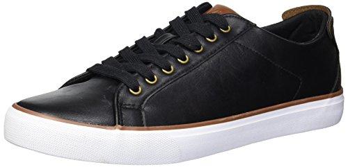 Marc New York Men's Glenmore Sneaker, Black/White/Chestnut/Gum, 13 D US
